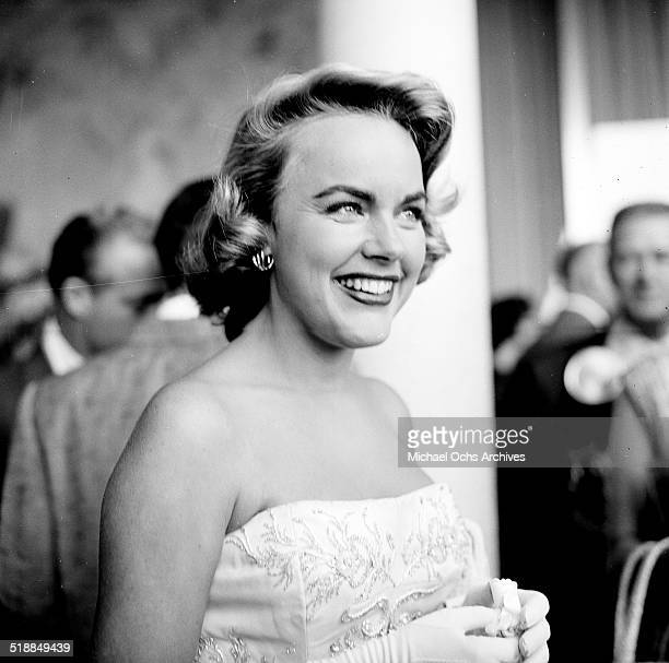 Terry Moore attends the Academy Awards in Los AngelesCA