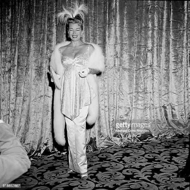 Terry Moore attends the movie premiere of Lust for Life in Los AngelesCA