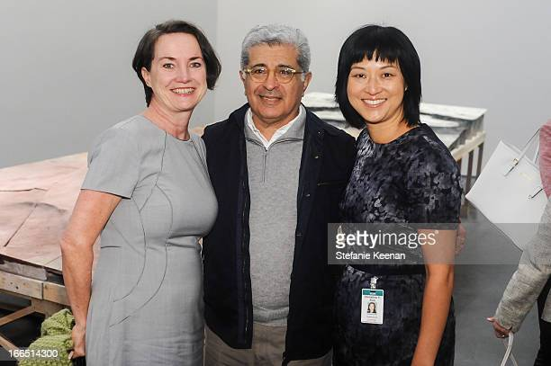 Terry Morello Terry Semel and Christine Y Kim attend LACMA's 2013 Collectors Committee Viewing Of Proposed Acquisitions And Curatorial Presentations...