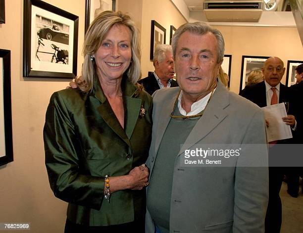 Terry O'Neil and Lorraine Ashton attend the private view of 'Terence Donovan Image Maker And Innovator' at the Chris Beetles Gallery on September 17...