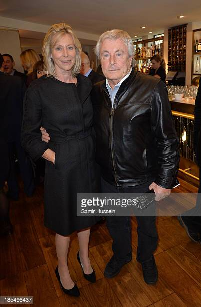 Terry O'Neil and wife Laraine Ashton attend NYT tribute to legendary director and president of the National Youth Theatre from 1983 to 2005 Bryan...