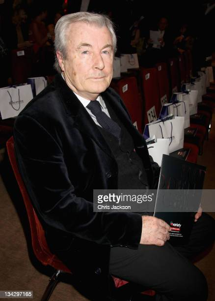 Terry O'Neil attends Hidden Gems Photography Gala Auction in support of Variety Club at St Pancras Renaissance Hotel on November 30, 2011 in London,...