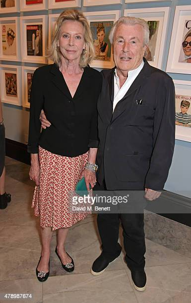 Terry O'Neill and Lorraine Ashton attend a private view of new exhibition Audrey Hepburn Portraits Of An Icon at the National Portrait Gallery on...