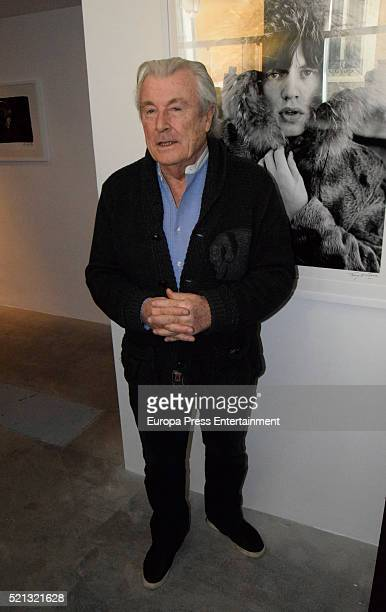 Terry O'Neill attends the opening of the picture exhibition 'Breaking Stones A Band on the Brink of Superstardom 19631965' at Mondo Galeria on April...