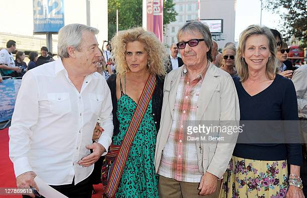 Terry O'Neill Suzanne Wyman Bill Wyman and Lorraine Ashton arrive at the UK Premiere of 'George Harrison Living In The Material World' at BFI...