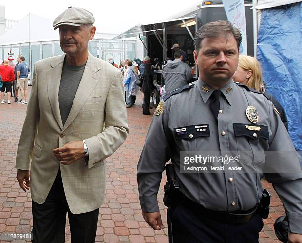 Terry O'Quinn star from the TV program Lost arrived for the 136th running of the Kentucky Derby at Churchill Downs in Louisville Kentucky Saturday...