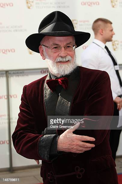 Terry Pratchett attends The Arqiva British Academy Television Awards 2012 at The Royal Festival Hall on May 27 2012 in London England