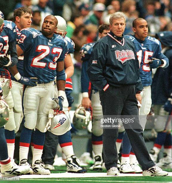 Terry Ray and Bill Parcells wear matching looks of disgust as the Cowboys run out the clock