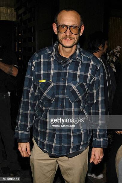 Terry Richardson attends Another Magazine and Gran Centenario Tequila Celebrate Issue 8 with Cover Star Drew Barrymore at Ono on February 6 2005 in...