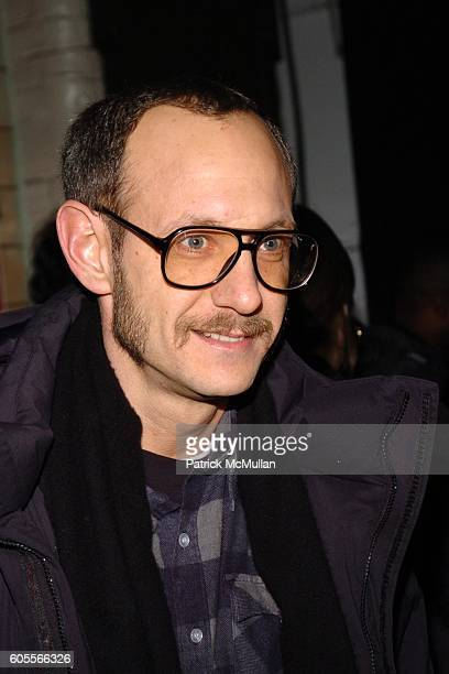 Terry Richardson attends Marc Jacobs Fall 2006 Fashion Show at NY State Armory on February 6, 2006 in New York.