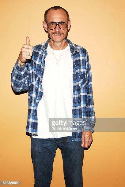 """Terry Richardson attends THE CINEMA SOCIETY and DOLCE & GABBANA host a screening of """"FILTH & WISDOM"""" at Landmark Sunshine Theater on October 13, 2008..."""