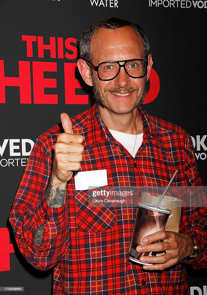 Terry Richardson attends 'This Is The End' New York Premiere at Sunshine Landmark on June 10, 2013 in New York City.