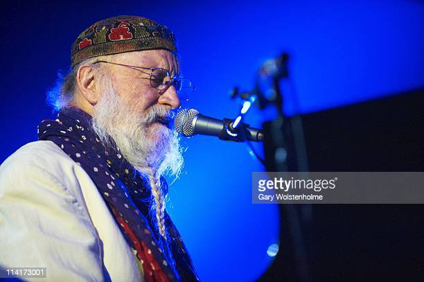 Terry Riley performs on stage during the first day of ATP Festival curated by Animal Collective at Butlins Holiday Centre on May 13 2011 in Minehead...