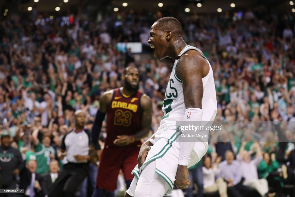 Cleveland Cavaliers v Boston Celtics - Game Two : News Photo