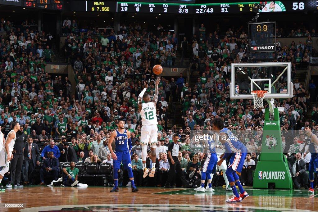 Philadelphia 76ers v Boston Celtics - Game Five : News Photo