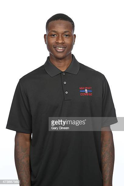 Terry Rozier poses for a headshot during the 2015 NBA Draft Combine on May 16 2015 at Northwestern Memorial Hospital in Chicago Illinois NOTE TO USER...