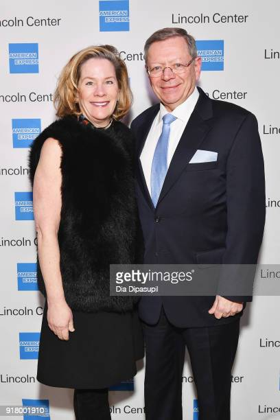 Terry Ruddy and Jim Ruddy attends the Winter Gala at Lincoln Center at Alice Tully Hall on February 13 2018 in New York City