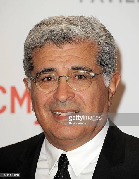 Terry Semel arrives at the opening Gala and 'Unmasking' for the Resnick Pavilion at LACMA on September 25 2010 in Los Angeles California