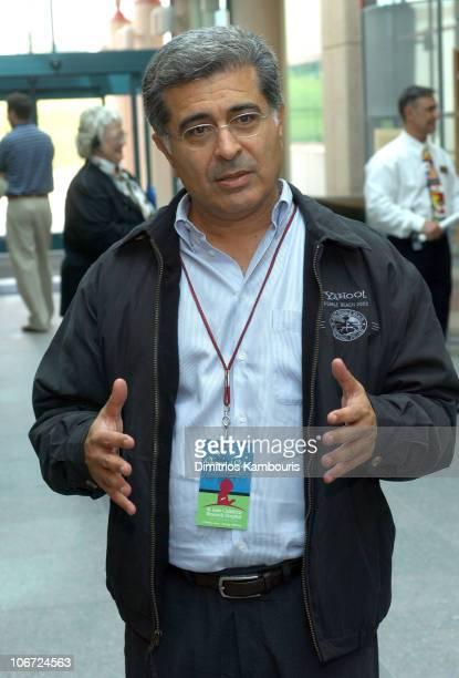 Terry Semel CEO of Yahoo during St Jude Childrens Research Hospital Shower of Stars 40th Anniversary Hospital Tour at St Jude Children's Research...
