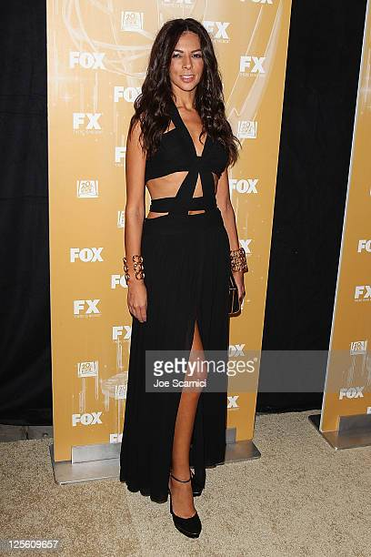 Terry Seymour arrives to the Fox Broadcasting Twentieth Century Fox and FX 2011 Emmy Nomination Celebration at Fig Olive Melrose Place on September...