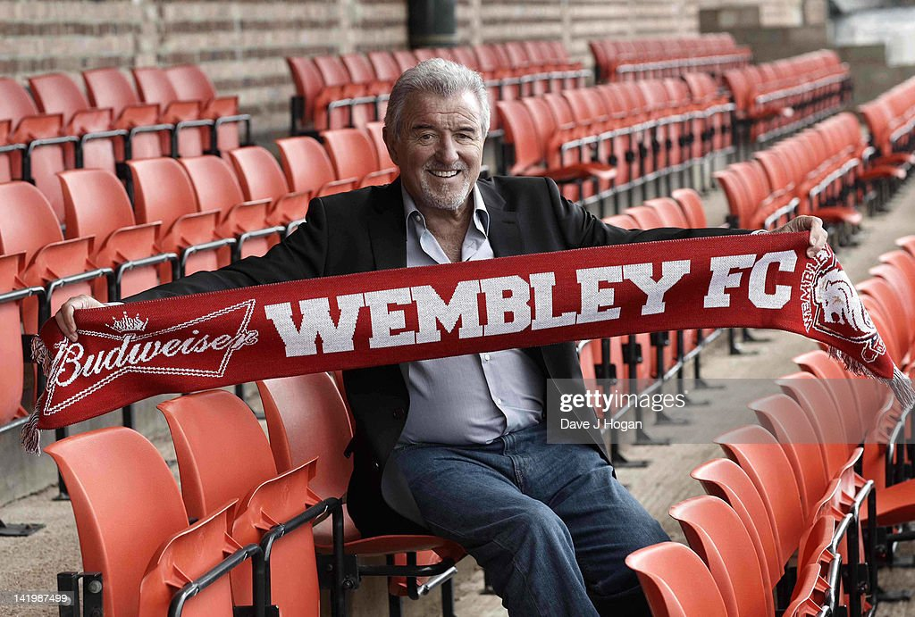Terry Venables returns to UK football as coach of non-league Wembley FC to see how far he can take them in The FA Cup with Budweiser at Vale Farm on March 28, 2012 in London, England.
