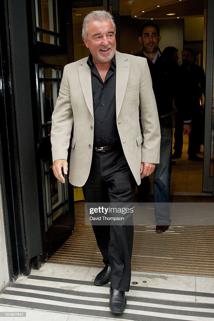 Celebrity Sightings In London - June 10, 2010