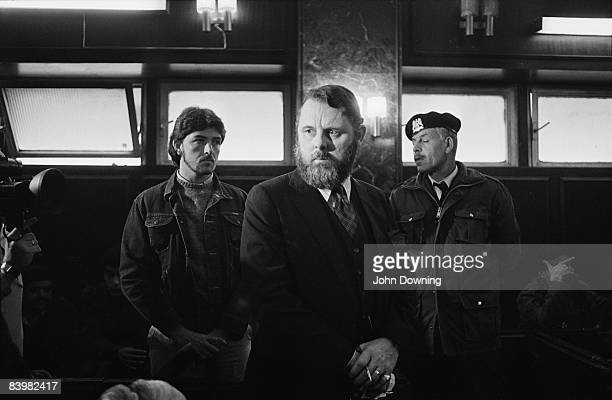 Terry Waite, an envoy of the Church of England, in Libya, March 1986. He had previously negotiated the release of British hostages in Libya.