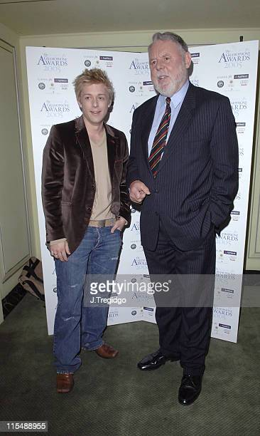 Terry Waite and Jonathan Ansell during 2005 Gramophone Awards at Dorchester Hotel in London, Great Britain.
