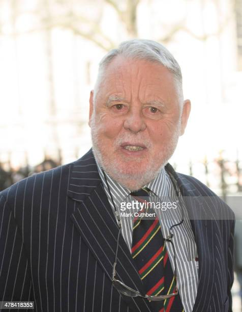 Terry Waite attends a memorial service for Sir David Frost at Westminster Abbey on March 13, 2014 in London, England.