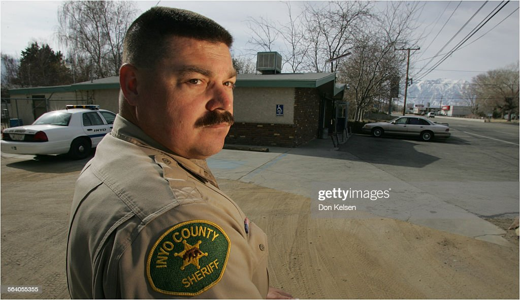 Terry Waterbury, Inyo Co  Deputy Sheriff, was first officer