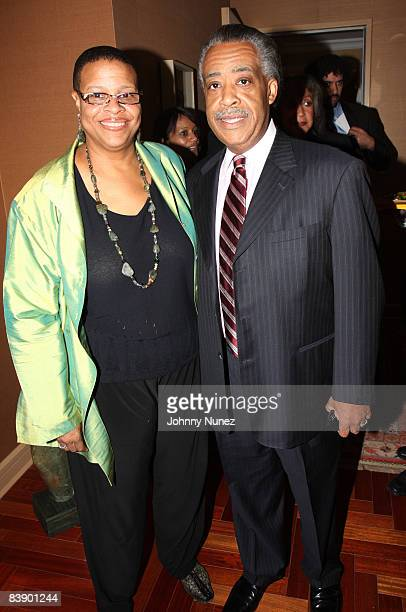 Terry Williams and Al Sharpton attend an intimate celebration of Susan Taylor's 37 Years at Essence magazine at a private residence on December 2...