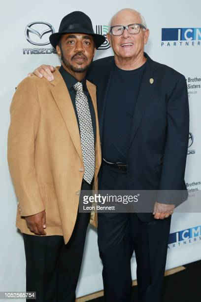 Terry Williams and Steve Soboroff attends Big Brothers Big Sisters Of Greater Los Angeles Big Bash Gala arrivals at The Beverly Hilton Hotel on...