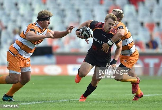 Tertius Kruger of the Isuzu Southern Kings during the Guinness Pro14 match between Toyota Cheetahs and Isuzu Southern Kings at Toyota Stadium on...