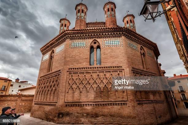 Teruel. Mudejar apse of the Church of San Pedro