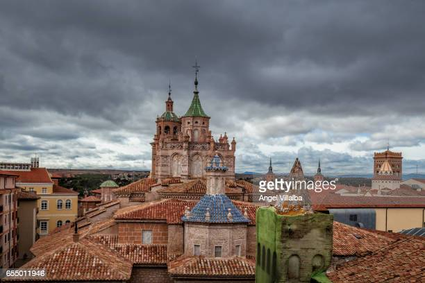 Teruel. Roofs of the cathedral