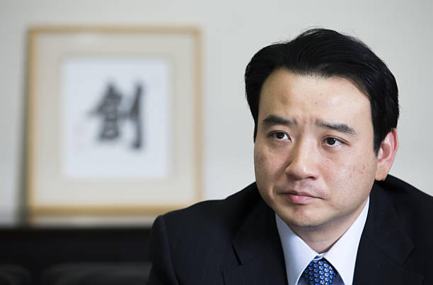 Canon Tokki Corp. Chairman and CEO Teruhisa Tsugami ...