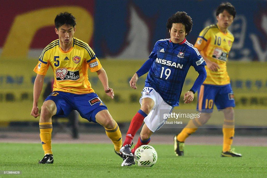 Yokohama F.Marinos v Vegalta Sendai - J.League : ニュース写真