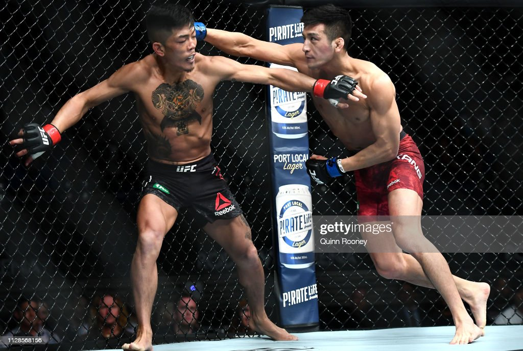 UFC 234 Adesanya v Silva : News Photo