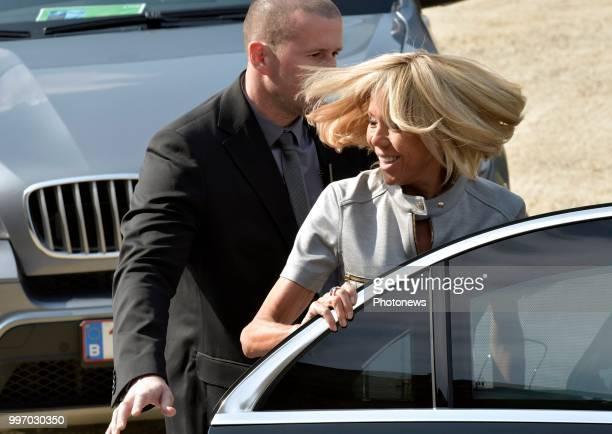 Tervueren 12/07/18 © Philip Reynaers / Photonews Visites des conjoints des chefs d'État et de gouvernement dans le Brabant flamand Bezoek van de...