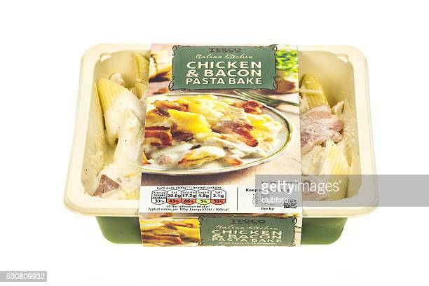 Tesco Chicken and Bacon pasta ready meal