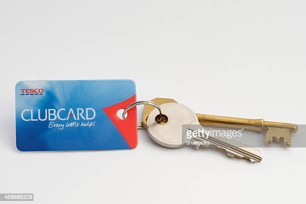 Tesco Clubcard and keys