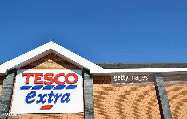 Tesco Extra with copyspace