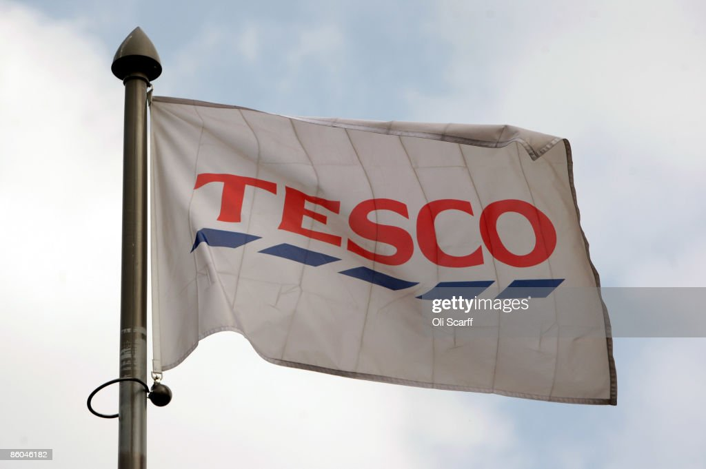 Tesco Expected To Announce Turnover Figure Of £1 Billion Per Week : News Photo