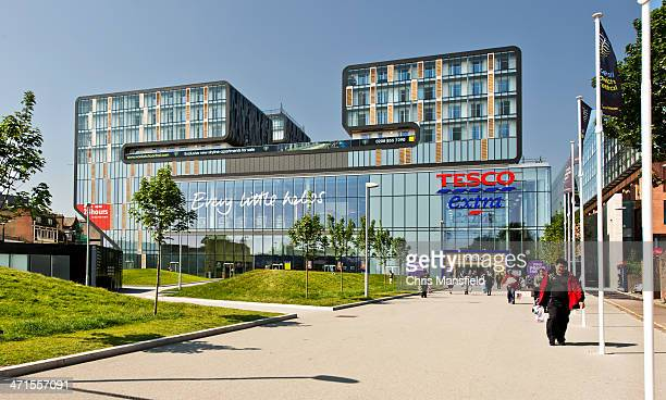 tesco town woolwich uk - woolwich stock pictures, royalty-free photos & images