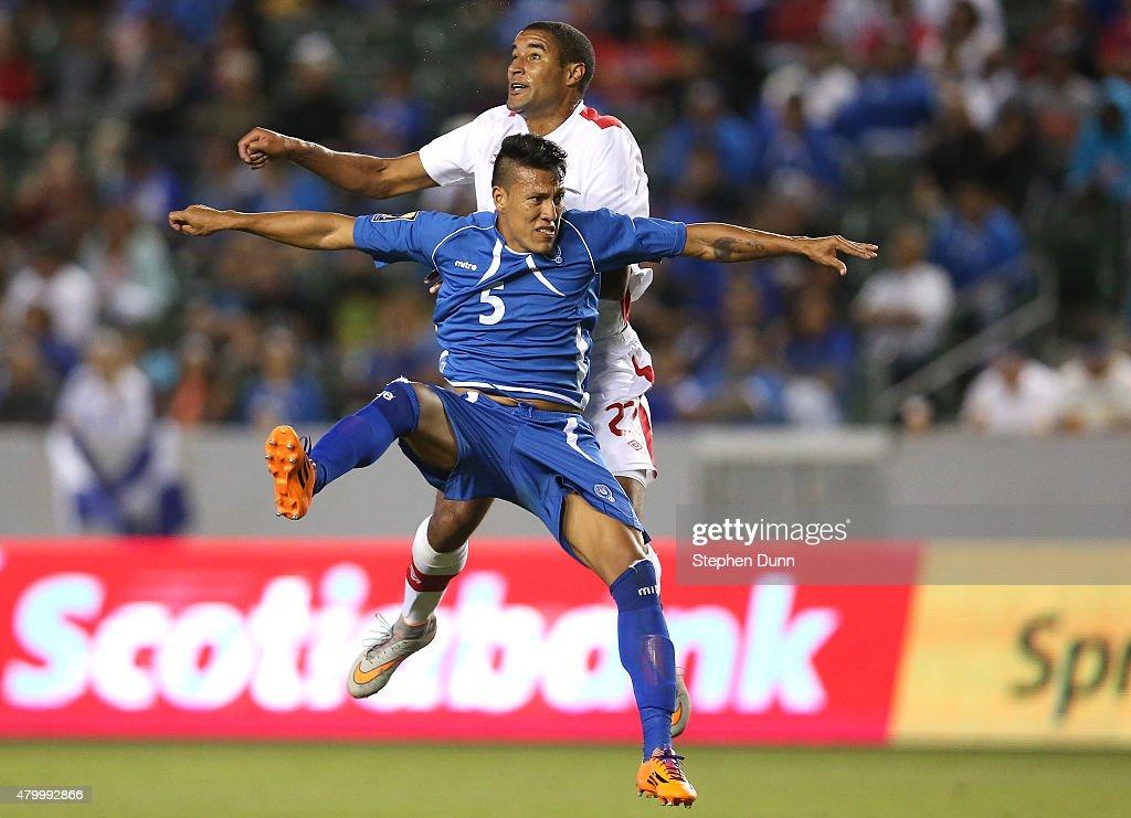 El Salvador v Canada: Group B - 2015 CONCACAF Gold Cup : News Photo