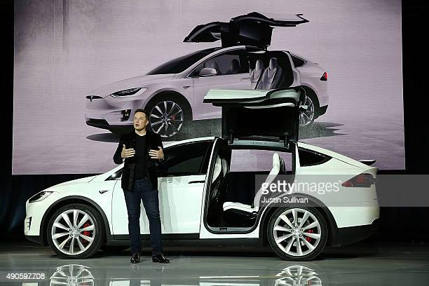 tesla model x 画像と写真 getty images