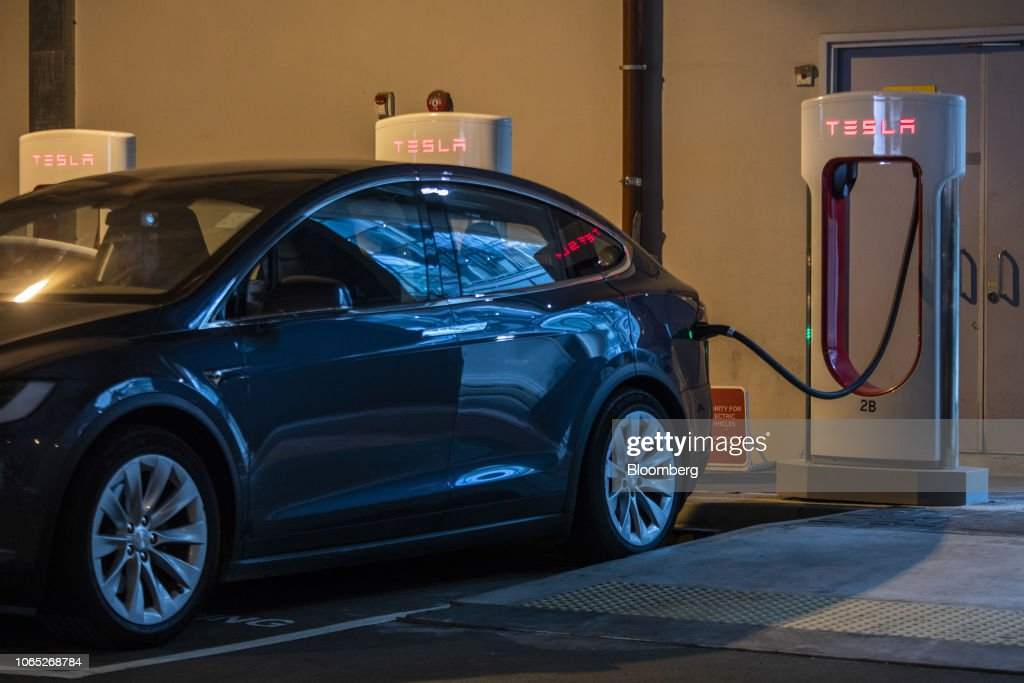 Tesla Boosts Hong Kong Chargers to Bolster Presence After City Ends Tax Breaks : News Photo