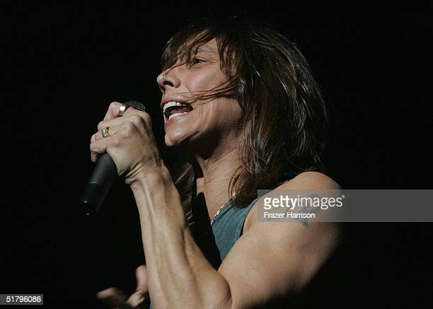 Tesla' Jeff Keith performs at Universal Amphitheatre on November 26 2004 in Universal City California