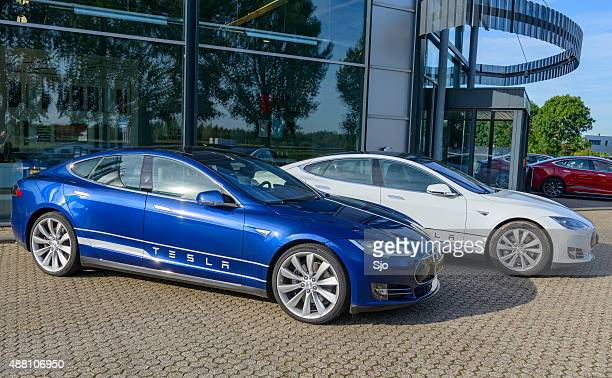 Tesla Model S full electric luxury car