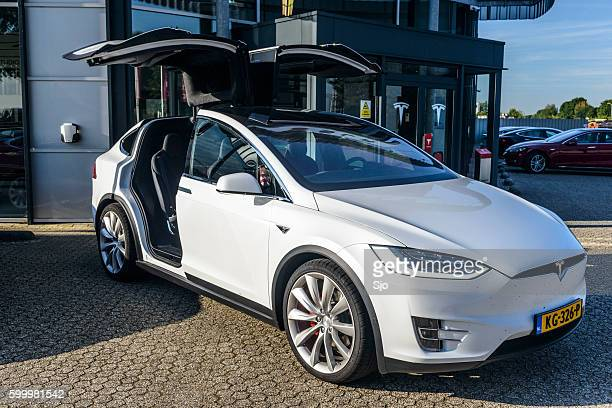 Tesla Model X P90D all-electric crossover SUV